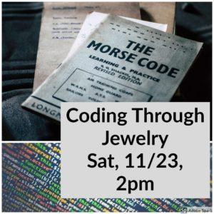 Coding Through Jewelry @ Huntsville Art League, Studio 2009